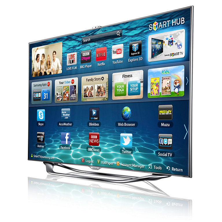 Samsung Series 8 SMART 3D Full HD LED TV